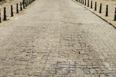 Strada dalle pietre per lastricati immagine stock libera da diritti