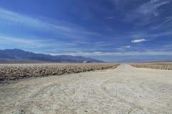 Strada in Death Valley Fotografia Stock Libera da Diritti