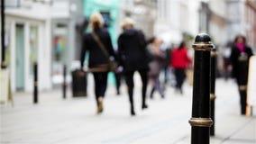 Strada dei negozi, Londra stock footage