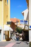 Strada dei negozi, Vilamoura Fotografia Stock Libera da Diritti