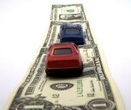 Strada dei soldi Immagine Stock Libera da Diritti
