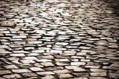 Strada del Cobblestone immagini stock libere da diritti