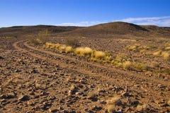 Strada del deserto Fotografie Stock