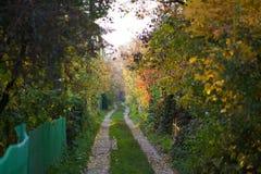 Strada del giardino immagine stock libera da diritti