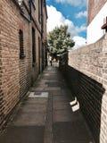 Strada del mattone su Richmond immagini stock libere da diritti