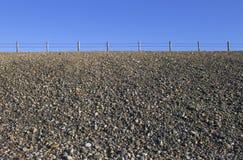 Strada del monticello della ghiaia Fotografie Stock Libere da Diritti