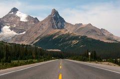 Strada del parco del Canada Natoinal Fotografie Stock