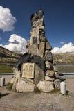 Strada del passaggio di Gotthard, il Ticino, Svizzera Immagine Stock Libera da Diritti