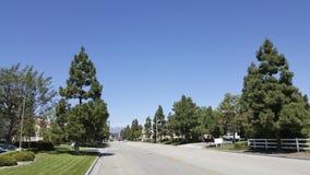 Strada del ranch di Camarillo, CA Fotografie Stock Libere da Diritti