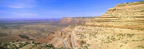 Strada del tracciato al punto del mulo, fotografie stock libere da diritti