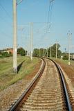 Strada del treno fotografie stock