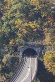 Strada del tunnel Fotografie Stock