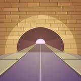 Strada del tunnel Fotografia Stock Libera da Diritti