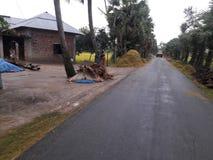 Strada del villaggio immagini stock