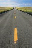 Strada del Wyoming Immagine Stock