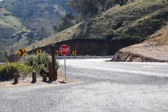 Strada dell'allerta di Bethanga Immagini Stock Libere da Diritti
