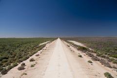 Strada dell'australiano outback Fotografia Stock