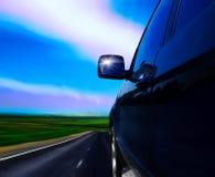 strada dell'automobile Fotografie Stock Libere da Diritti