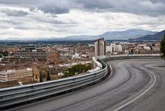 Strada dell'entrata di Granada Immagine Stock Libera da Diritti