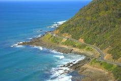 Strada dell'oceano Fotografia Stock