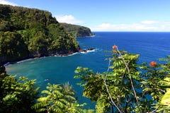 Strada dell'oceano, Maui Fotografia Stock