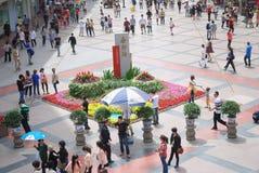 Strada della Cina Chunxi Fotografie Stock