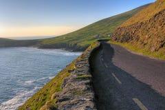 Strada della costa delle Dingle Fotografia Stock Libera da Diritti