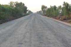 Strada della costruzione Fotografie Stock