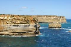 Strada della gola di Ard del lago grande oceano, Australia Fotografia Stock