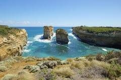 Strada della gola di Ard del lago grande oceano, Australia Immagine Stock Libera da Diritti