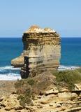 Strada della gola di Ard del lago grande oceano, Australia Fotografia Stock Libera da Diritti