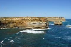 Strada della gola di Ard del lago grande oceano, Australia Immagini Stock Libere da Diritti