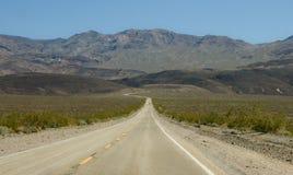 strada della montagna a Fotografia Stock