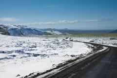 Strada della montagna Immagini Stock