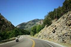 Strada della montagna Fotografia Stock Libera da Diritti