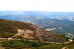 Strada della montagna Fotografia Stock