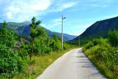 Strada della montagna immagine stock