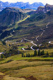 Strada della montagna Immagini Stock Libere da Diritti