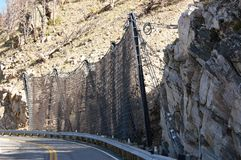 Strada della montagna del Montana dello stato Fotografia Stock Libera da Diritti