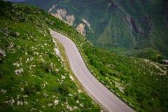 Strada della montagna di estate, Armenia, Tatev Fotografia Stock Libera da Diritti