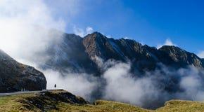 Strada della montagna di Transfagarasan fotografia stock