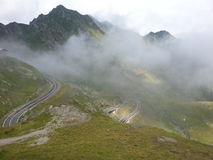 Strada della montagna di Transfagarasan, Romania Immagini Stock