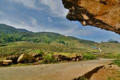 Strada della montagna PA del Sa vietnam Immagine Stock Libera da Diritti