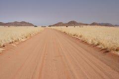 Strada della sabbia Fotografia Stock