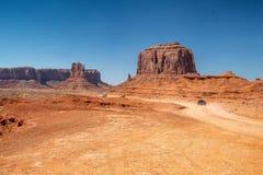 Strada della valle del monumento, U.S.A. Fotografia Stock