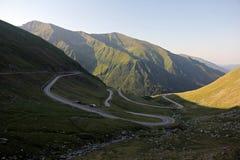Strada delle alte montagne Fotografia Stock Libera da Diritti