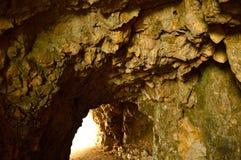 Strada delle 52 gallerie, de weg met tunnels, Vicenza, Veneto Royalty-vrije Stock Afbeeldingen