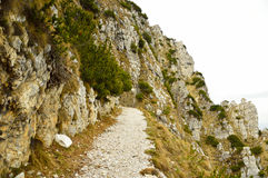 Strada delle 52 gallerie, the road with tunnels, Vicenza, Veneto Royalty Free Stock Photo