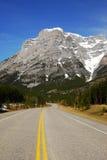 Strada delle montagne Fotografia Stock