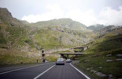 Strada delle montagne Immagine Stock